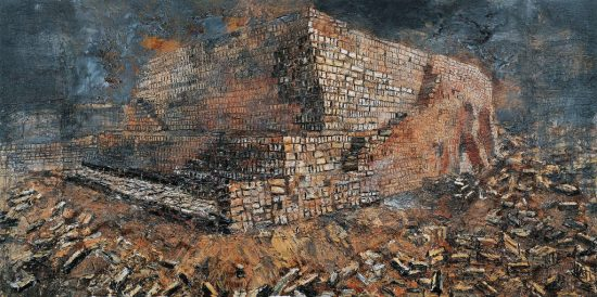 Anselm KIEFER (1945), The fertile crescent (新月沃土)
