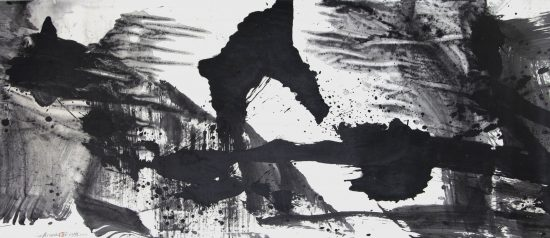 Ethan Cohen Gallery, Lan Zhenghui, Ink on Paper, 2019