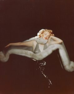 richard avedon Marilyn Monroe in furs and sequins