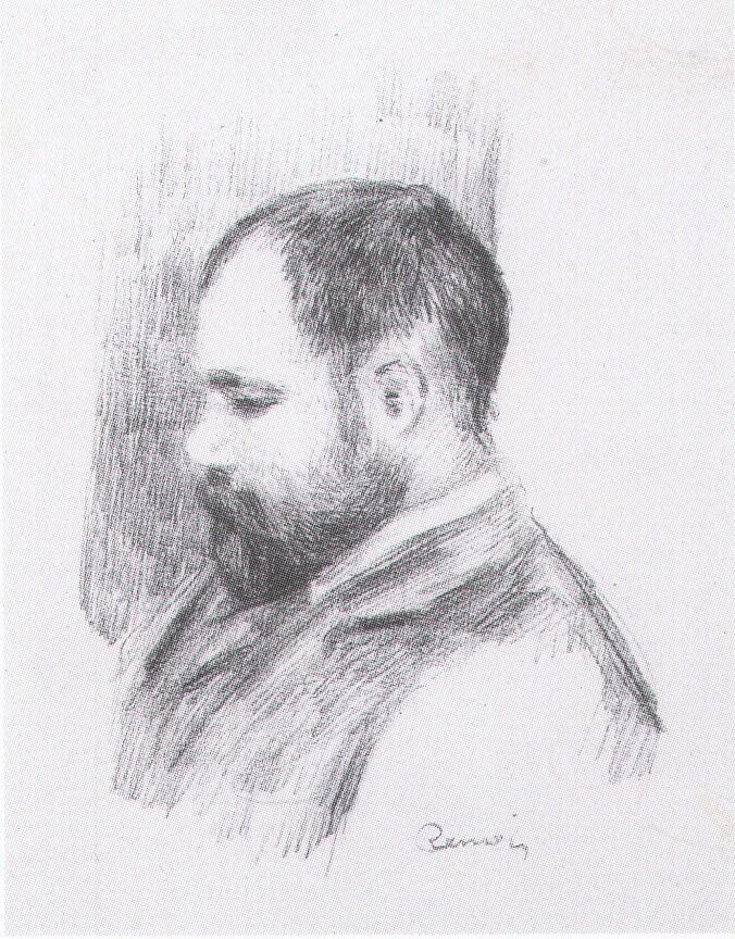 portrait Vollard par Renoir