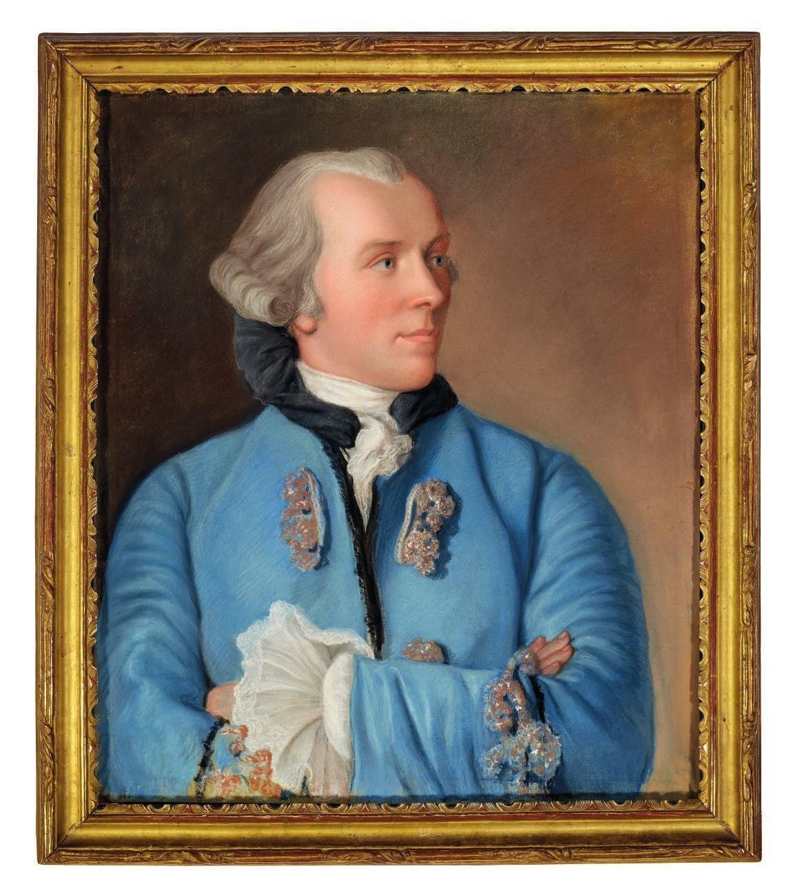 JE Liotard Portrait Cramer
