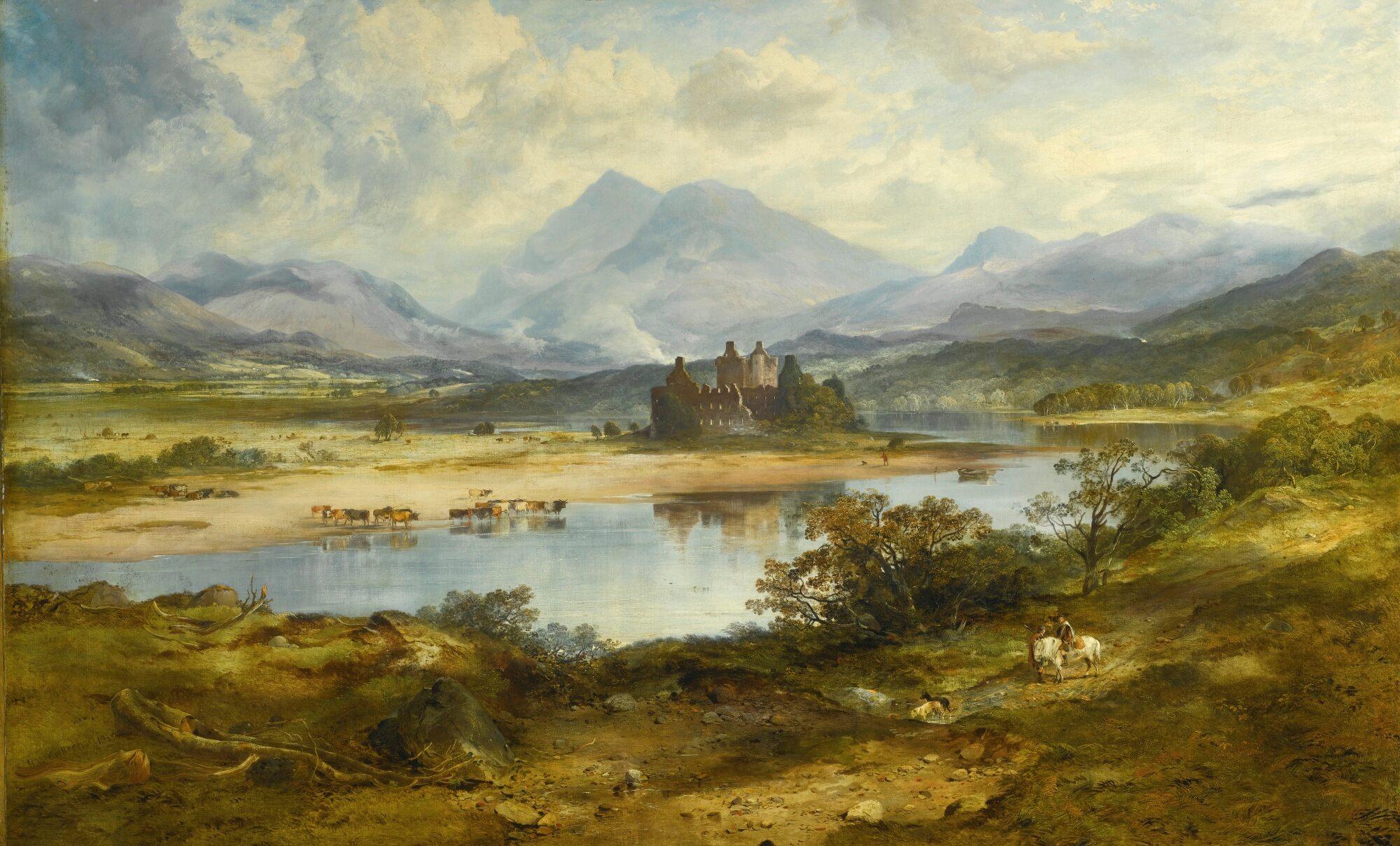 Kilchurn Castle, Loch Awe. H. Mcculloch Lot 1207671