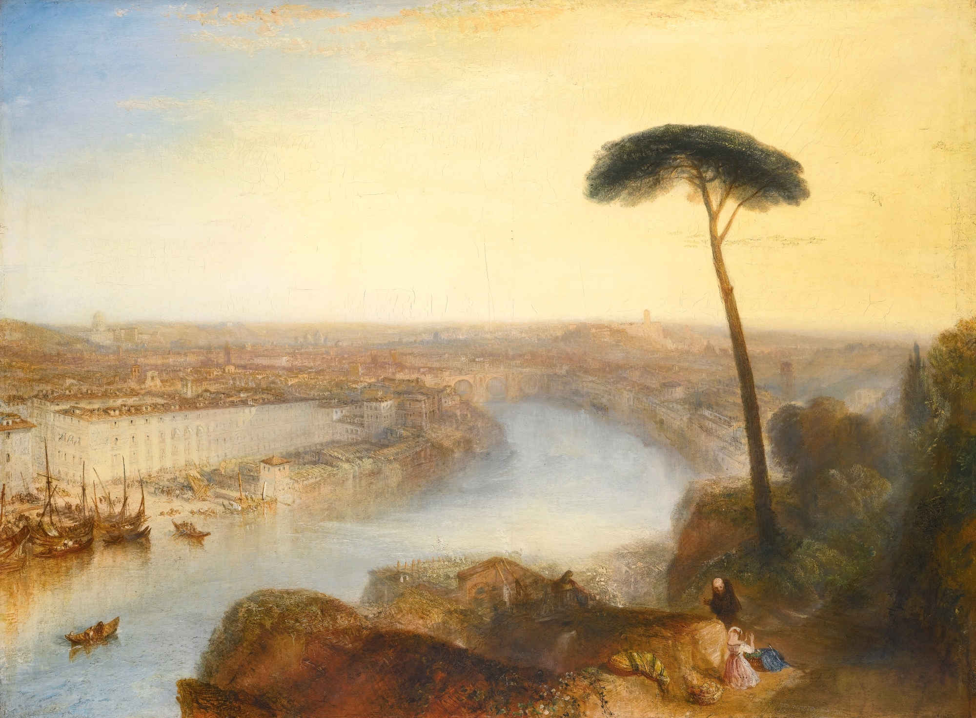 Rome, From Mount Aventine. W. Turner lot 8879040