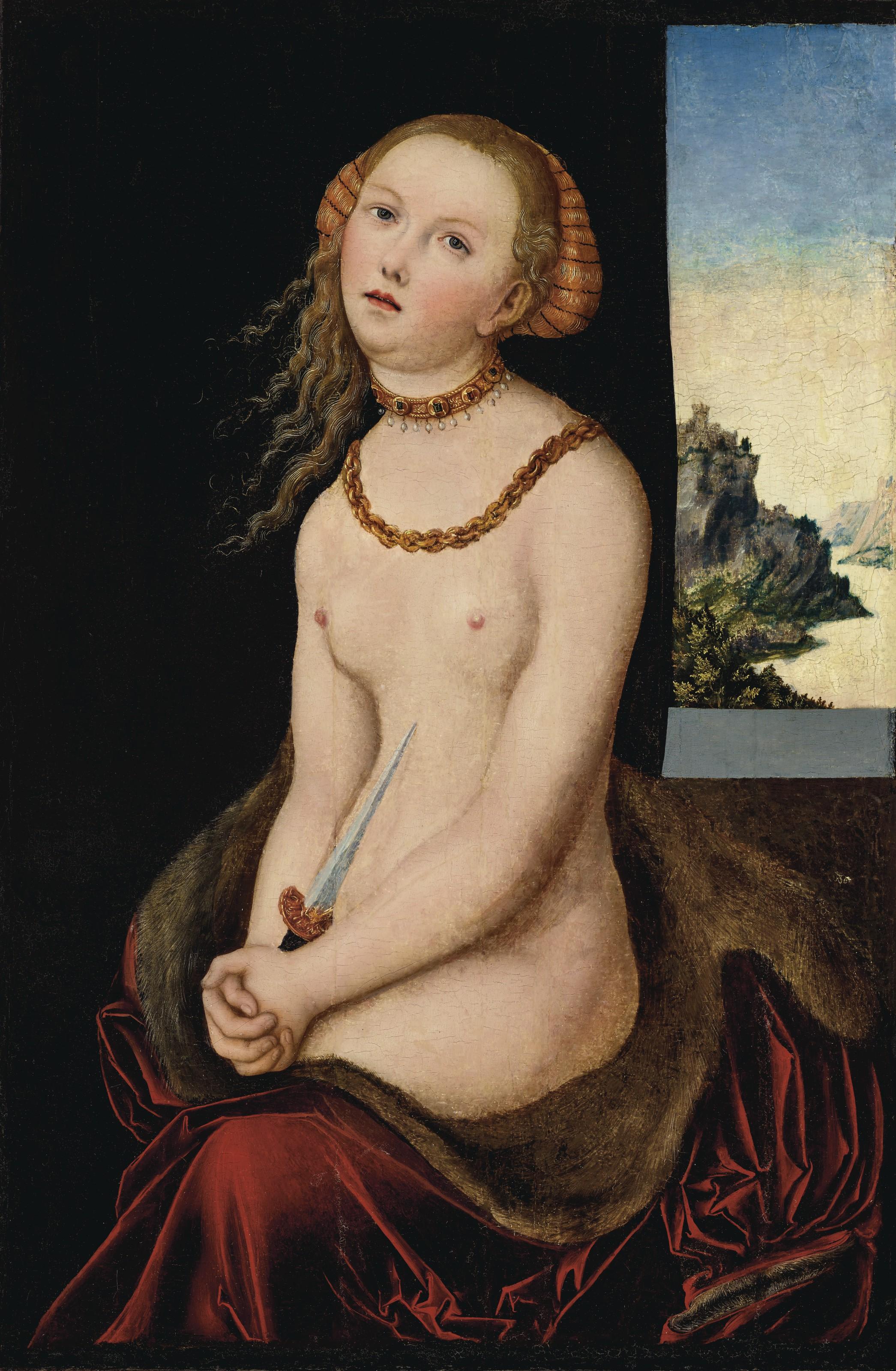 Lucas Cranach I, Lucretia