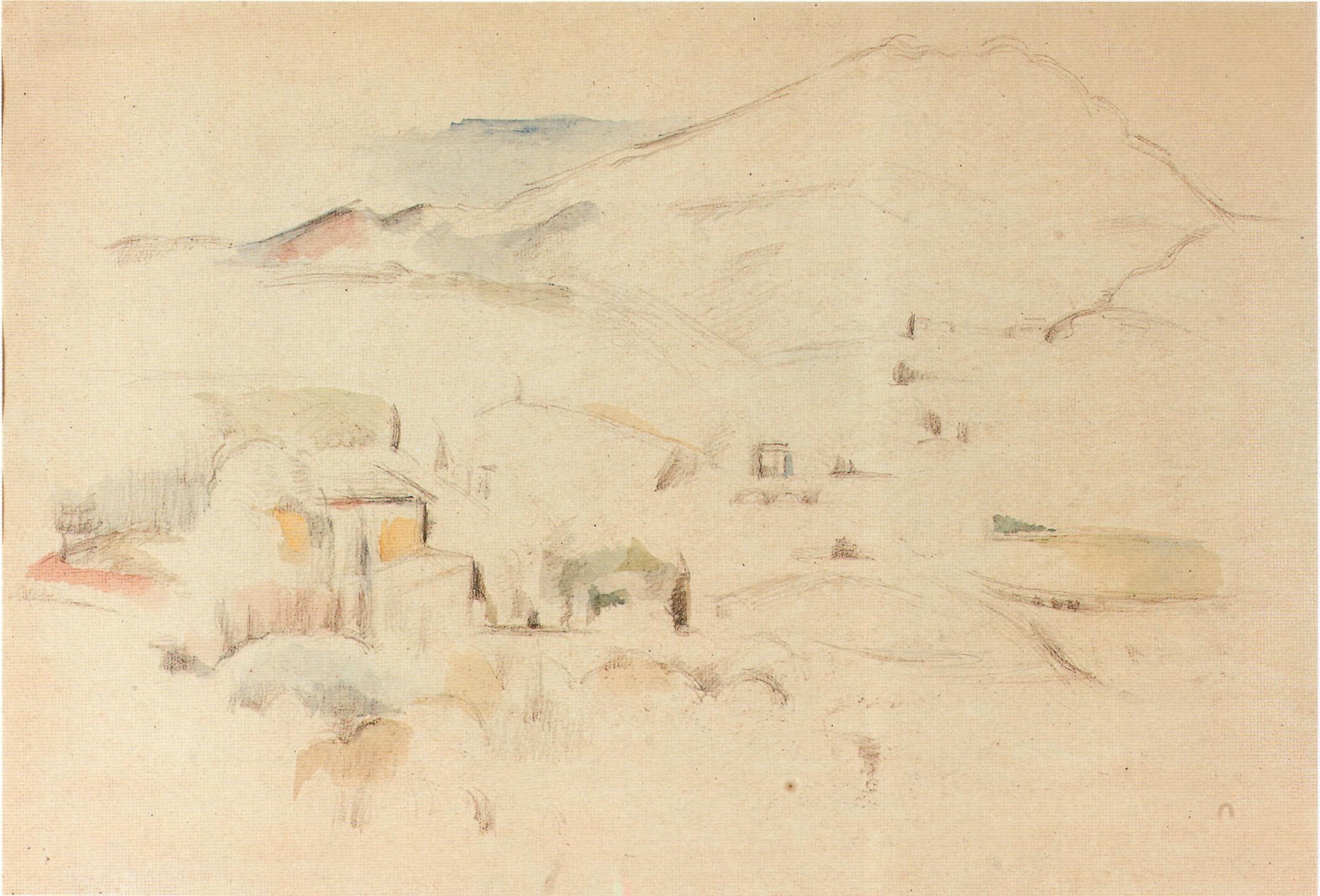Cezanne Montagne Sainte Victoire 2000 Koller lot1746970
