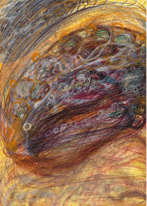 Georgiana Houghton_doyenne de l'exposition au centre Pompidou_Album of Spirit Art