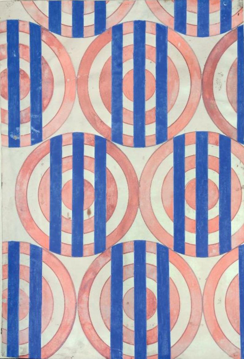 Liubov Popova _Design tectile 1924-1925