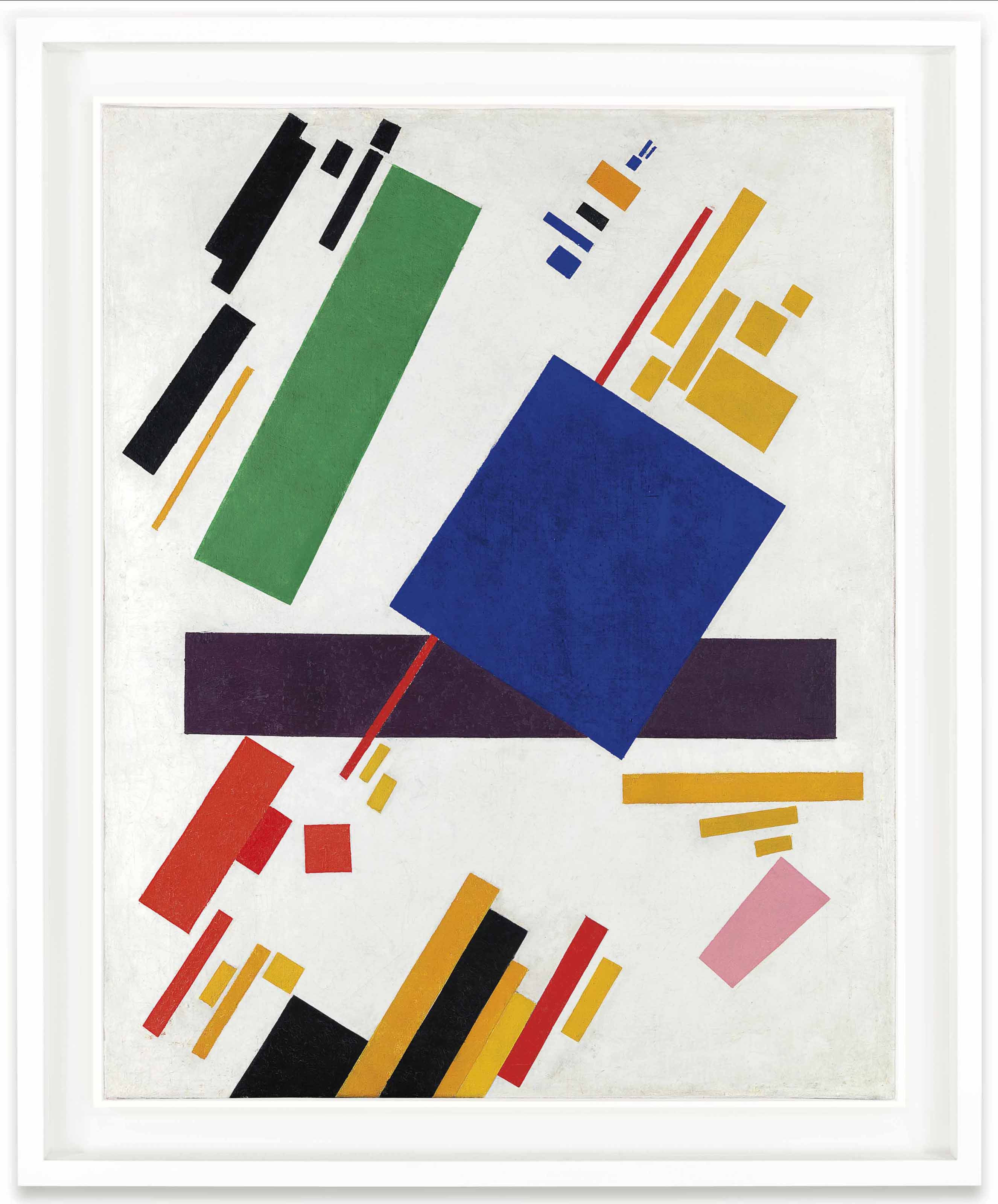 Kasimir Malevich (1878-1935) Suprematist Composition (1916)