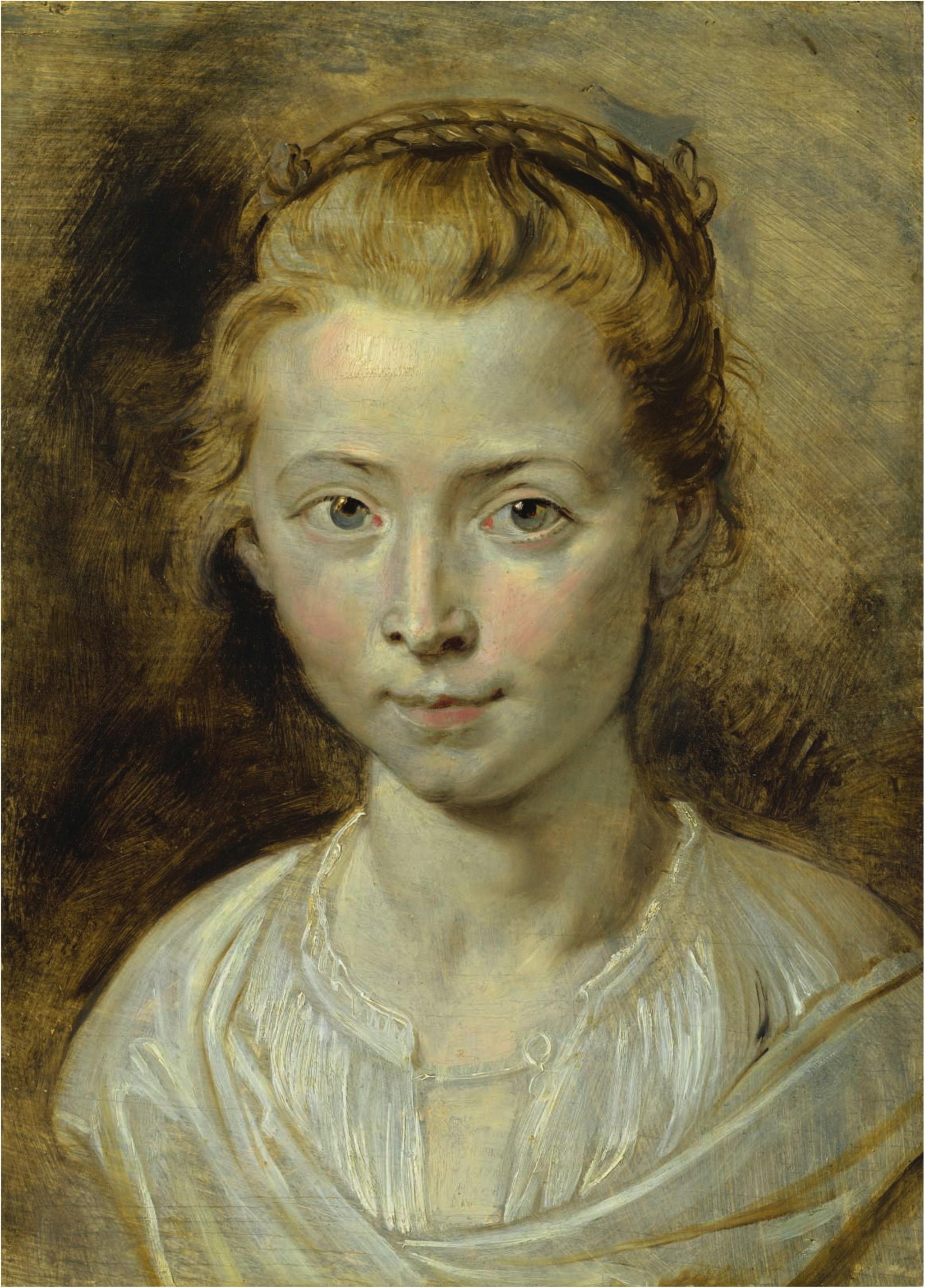 Peter Paul Rubens (1577-1640) Portrait of Clara Serena, the artist's daughter