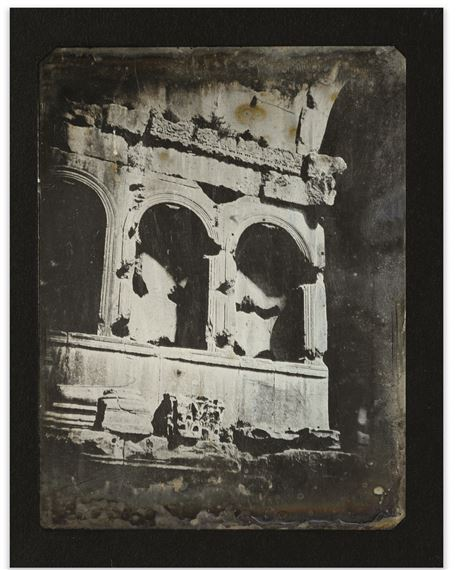 Joseph Philibert Girault de Prangey (1804-1892) 59. Rome, Arc de Janus, Détail, 1842