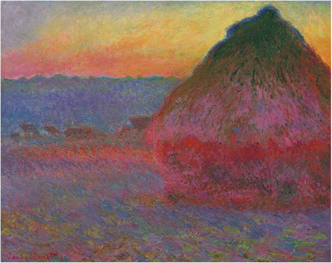 Claude Monet - Meule (1891)