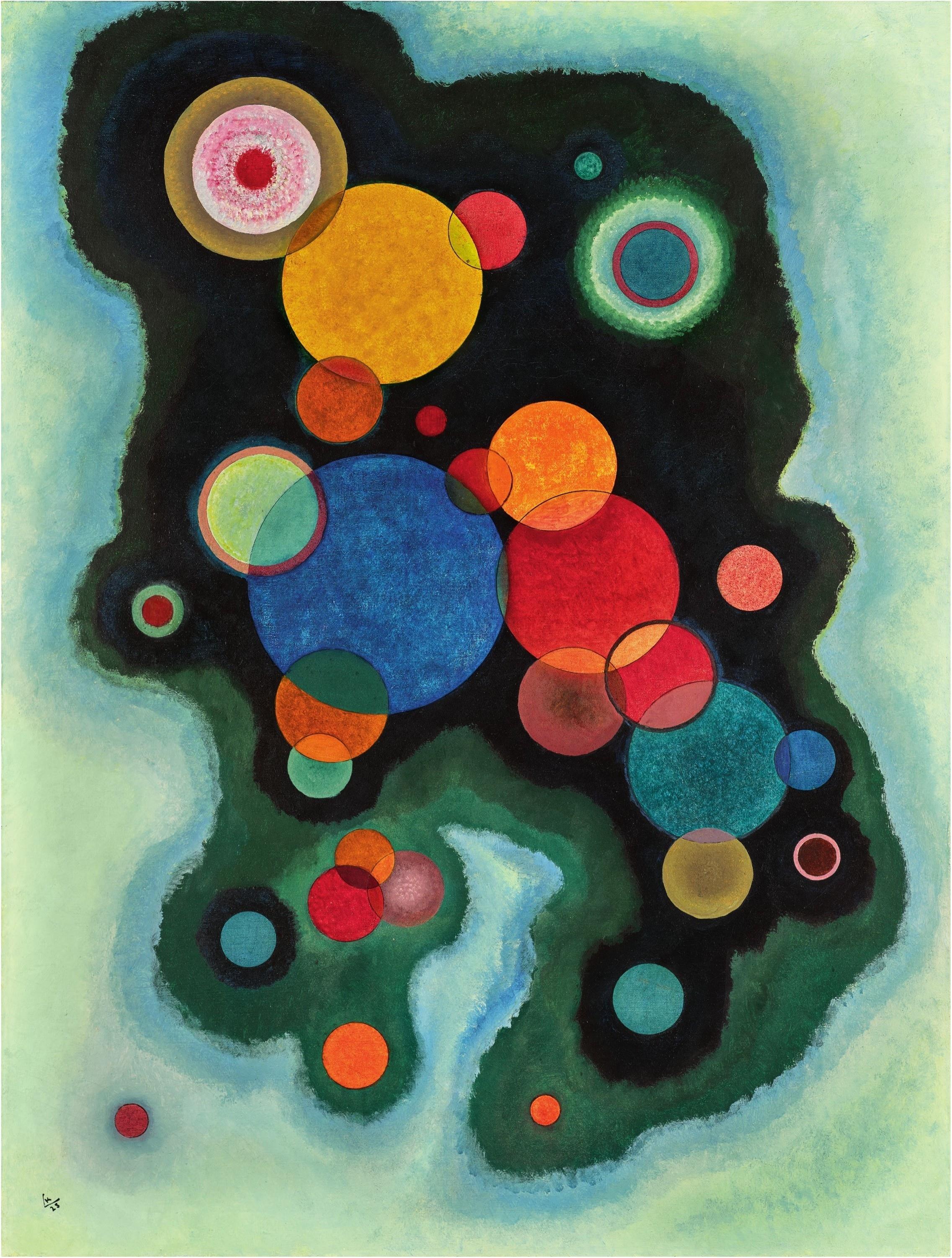 Wassily Kandinsky - Vertiefte Regung (1928)