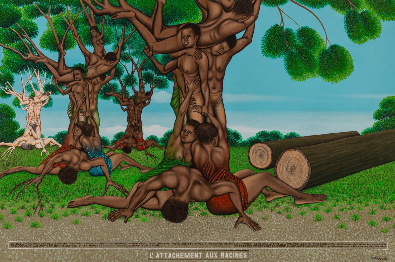 Chéri Samba - L'Attachement aux racines (2010)