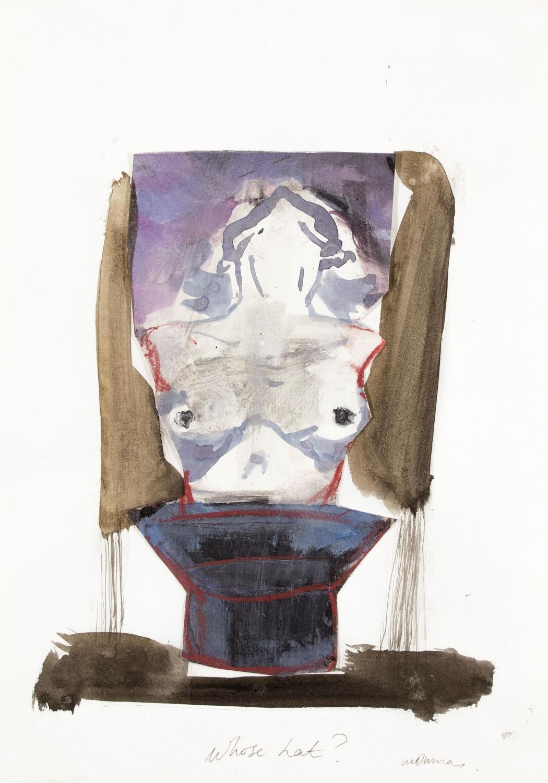 Marlene Dumas - Whose hat? (1985)