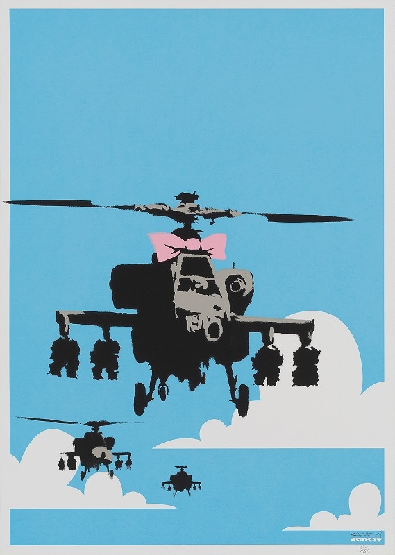 Banksy - Happy Chopper (2003)