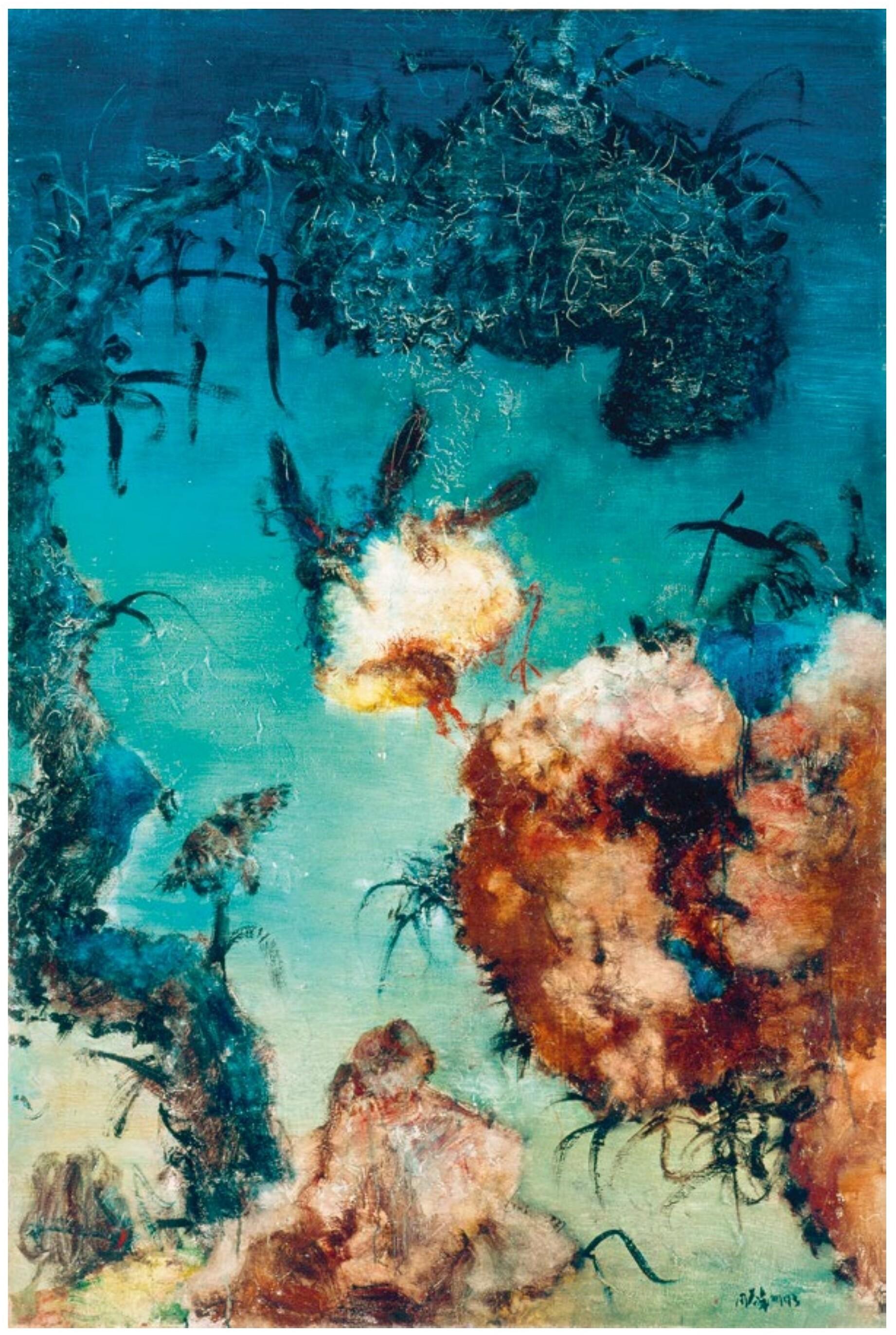 Zhou Chunya - Chinese Landscape (1993)