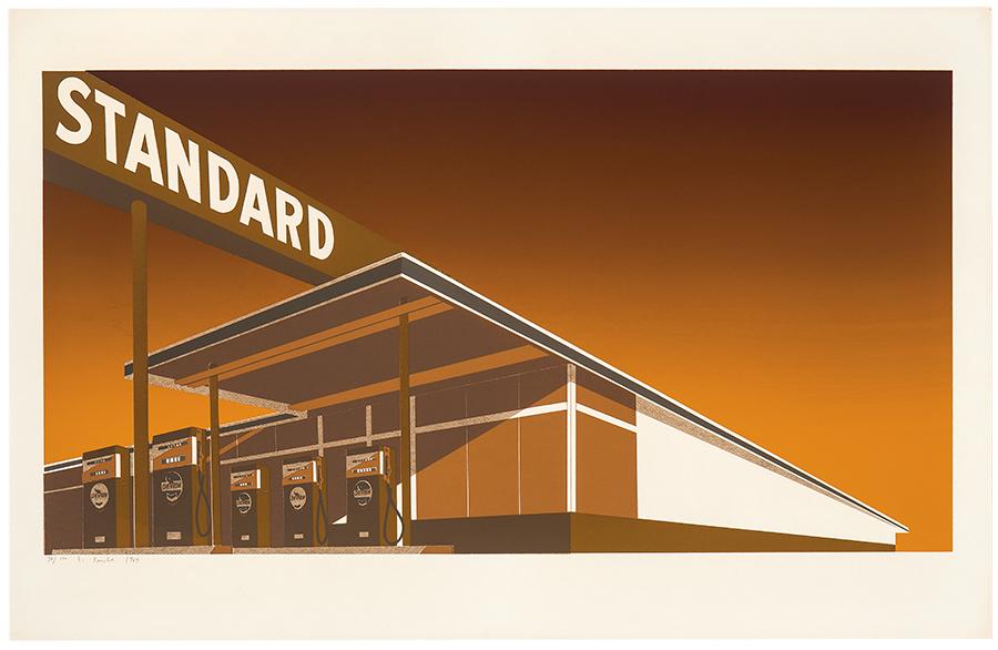 Ed Ruscha - Mocha Standard (1969) - Ed. 70/100