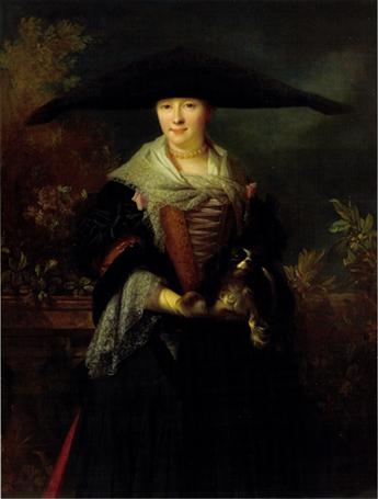 Nicolas de Largilliere - La Belle Strasbourgeoise